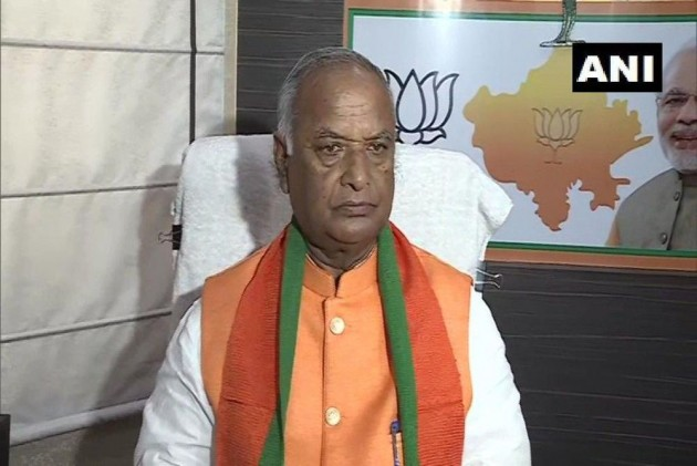 Madan Lal Saini, Rajasthan BJP Chief, Dies At 75