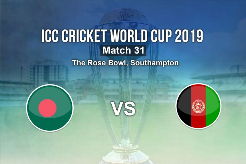 Bangladesh Vs Afghanistan, ICC Cricket World Cup 2019 Highlights: Shakib Al Hasan, Mushfiqur Rahim Set Up 62-Run Win For AFG