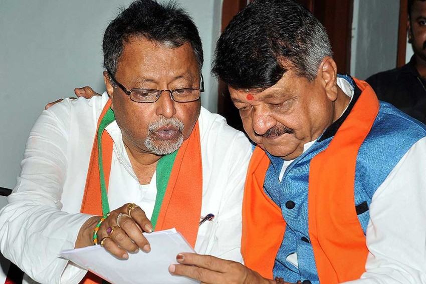 '... Film Abhi Baaki Hai,' Says Former Mamata Aide Mukul Roy As Another Group Of TMC Leaders Joins BJP
