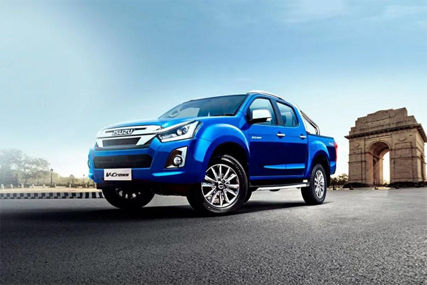 Isuzu Gives D-Max V-Cross A Facelift And More Features