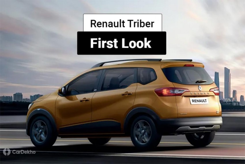 Renault Triber First Look In Detailed Pics