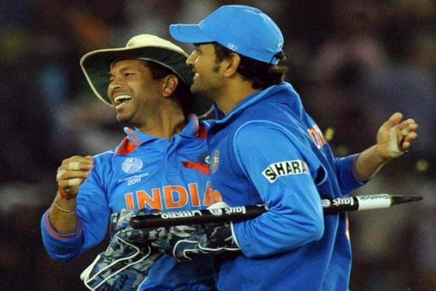 MS Dhoni Fans Declare War On Sachin Tendulkar's 'Mahi Lacks Intent' Comment