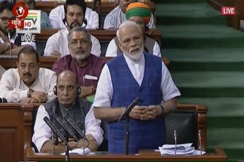'India's Soul Was Crushed On June 25, 1975': PM Modi Speaks About Emergency In Lok Sabha