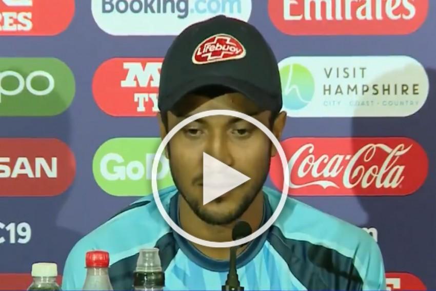 Cricket World Cup: We Can Defeat India, Feels Bangladesh's Shakib Al Hasan – WATCH