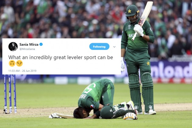 Cricket World Cup: Sania Mirza Hits Back At Critics Via