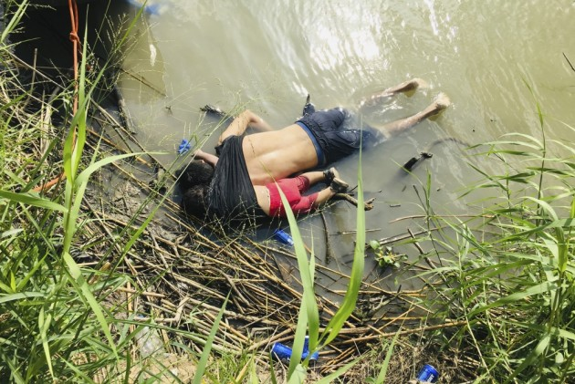 Photo Of Drowned Father-Daughter At US Border Underlines Perils Facing Many Migrants