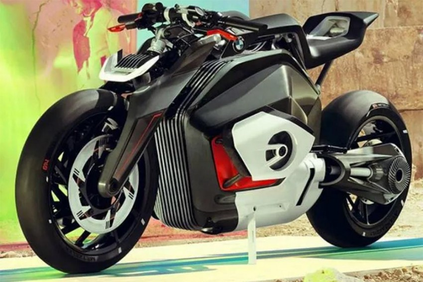 BMW Motorrad Showcases Radical Electric Vision DC Roadster
