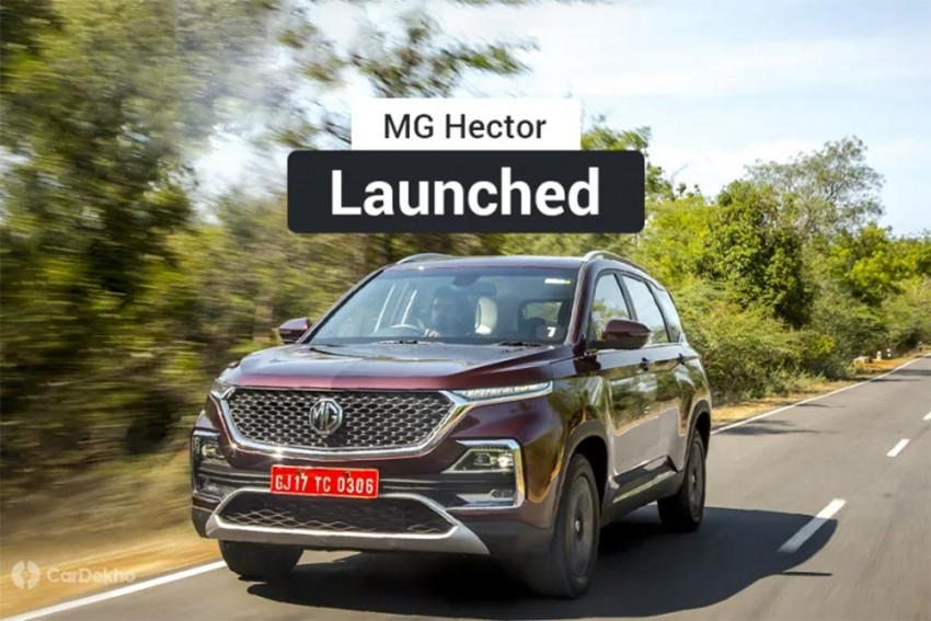 MG Hector Launched; Price Starts Below Tata Harrier, Jeep Compass & Hyundai Tucson