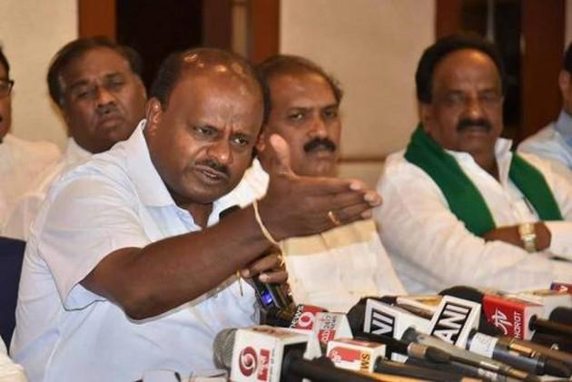 On Kumaraswamy Losing Cool, BJP's Prahlad Joshi Says Karnataka CM Has 'Lost His Mental Balance'