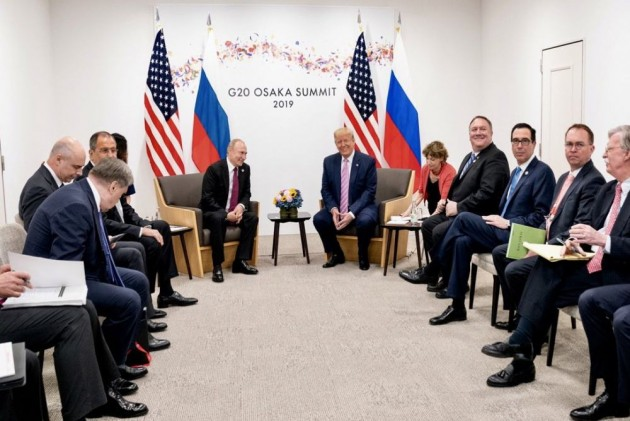 'Don't Meddle In 2020 Election, Please': Trump Jokes With Putin At G-20 Summit