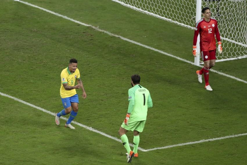 Copa America: Gabriel Jesus Scores Winning Penalty Vs Paraguay To Send Brazil Into Semis