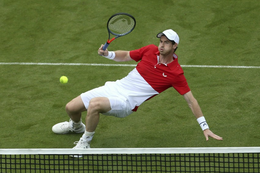 Wimbledon: Andy Murray