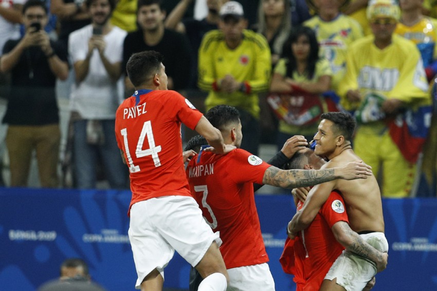 Copa America: Defending Champions Chile Beat Colombia On Penalties To Reach Semis