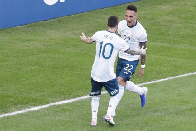 Copa America: Lautaro Martinez Stars In Argentina's Quarter-Final Win Over  Venezuela, Books Semis Berth Vs Brazil