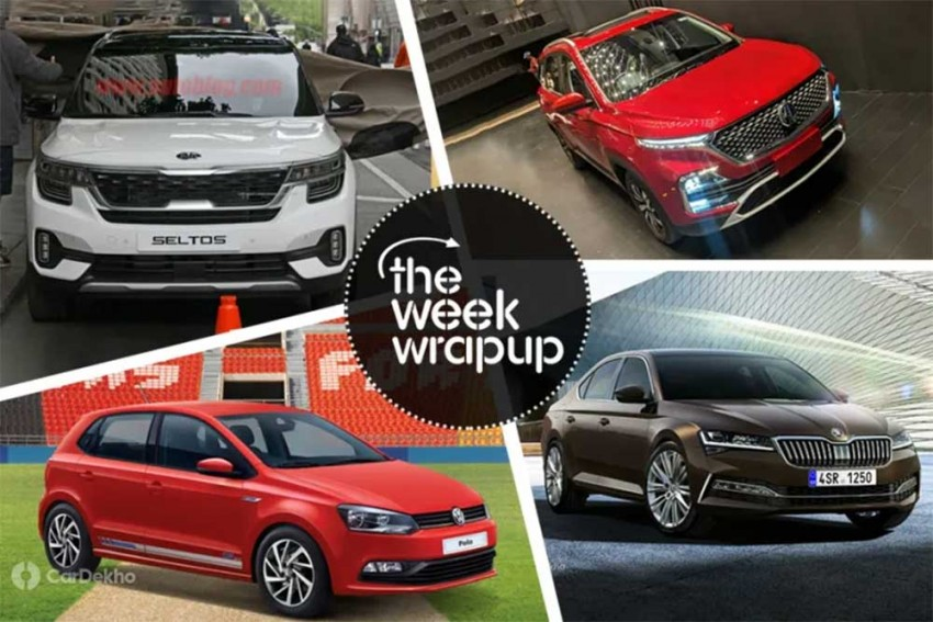 Weekly Roundup: Skoda Superb Facelift Coming Next Year, Hector Booking Details & More