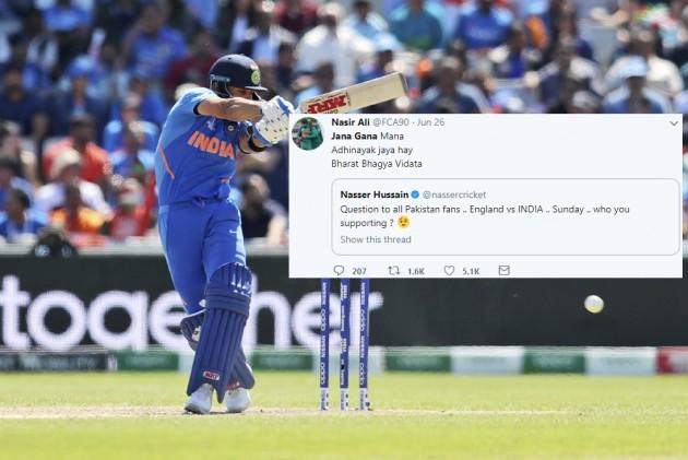 Cricket World Cup: Pakistan Fans To Support India Vs England, Sing Jana Gana Mana