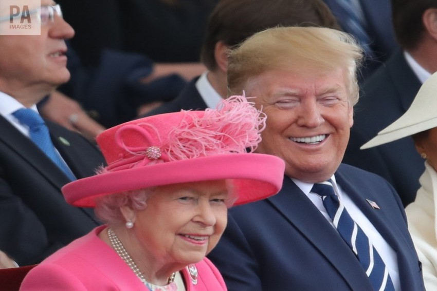 Trump Joins Queen, World Leaders To Commemorate 75th D-Day Anniversary