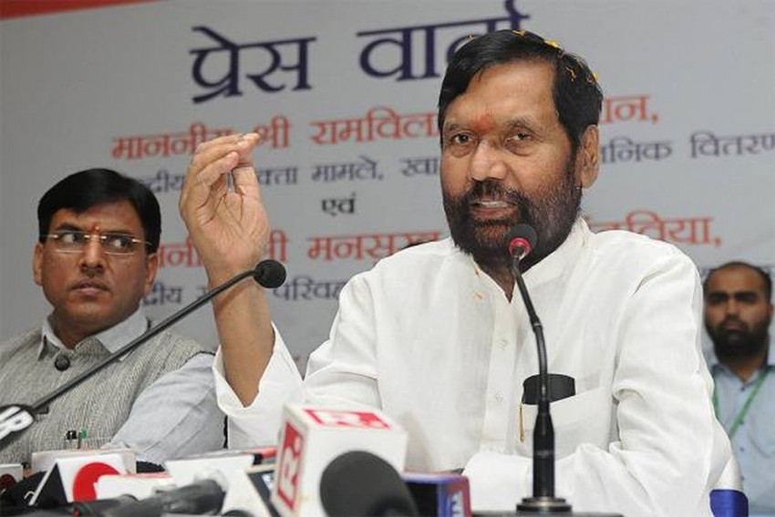 Ram Vilas Paswan Says Parties Like SP, BSP, RLD Will Shut Shop By 2020