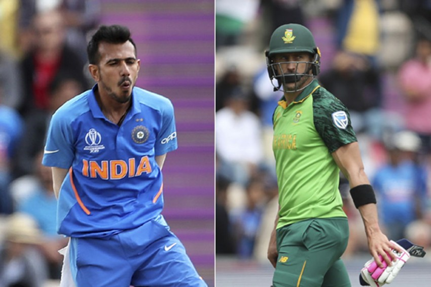 Cricket World Cup 2019: Yuzvendra Chahal Says Wicket Of Faf Du Plessis Was Key To India Beating South Africa