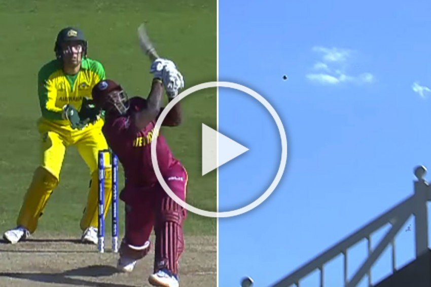 ICC Cricket World Cup 2019, AUS Vs WI: Andre Russell Hits Monster 103 Metre Six, But Fans Not Happy – WATCH