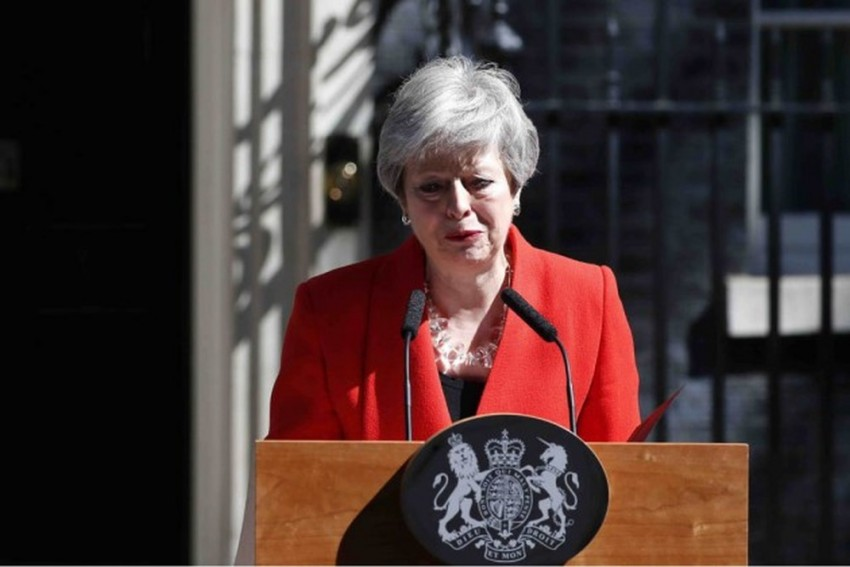 Theresa May Steps Down As Party Leader, Starting Succession Race