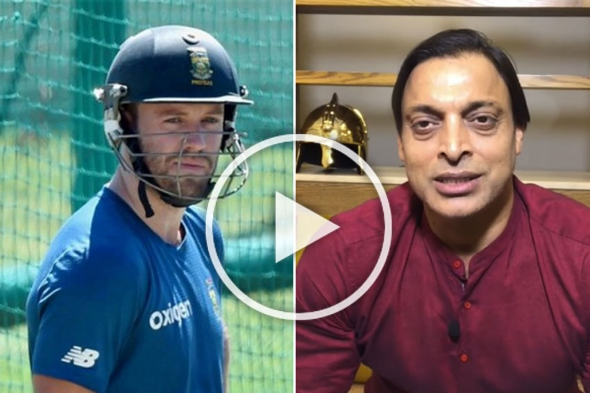 Cricket World Cup: AB De Villiers Chooses Money Over Country, Claims Shoaib Akhtar In Sensational Video – WATCH