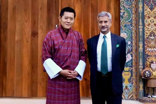 Jaishankar Meets Bhutanese King, Highlights India's 'Neighbourhood First' Policy In His 1st Foreign Trip