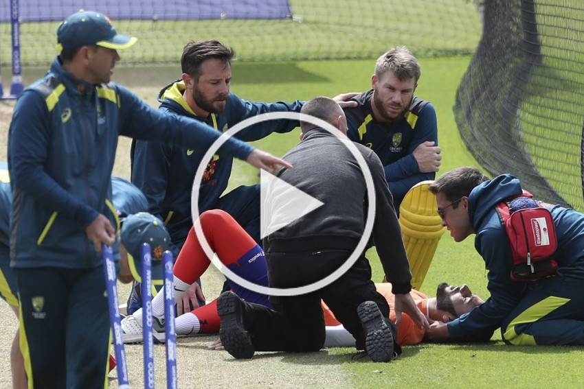 ICC Cricket World Cup, IND Vs AUS: Indian-Origin Net Bowler Hospitalised After Getting Hit On Head By David Warner – VIDEO