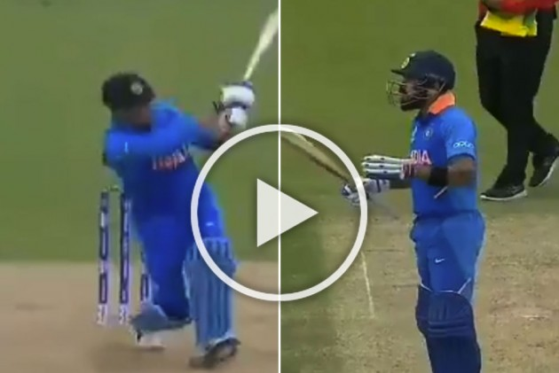 ICC Cricket World Cup 2019, IND Vs AUS: Virat Kohli's Reaction To MS Dhoni Six Is Priceless – WATCH