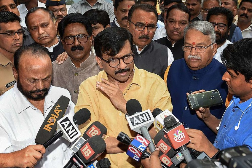 'Mehbooba Mufti Should Be Sent To Mental Asylum': Sena MP Sanjay Raut On Her Orange Jersey Comment