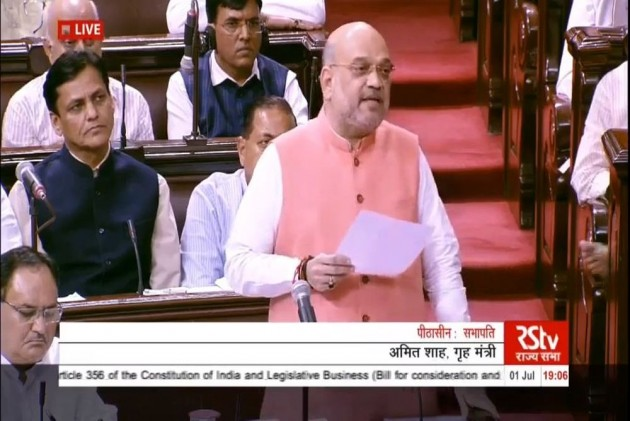 Rajya Sabha Approves Extension Of President's Rule In Jammu And Kashmir After Home Minister Amit Shah Moves Bill