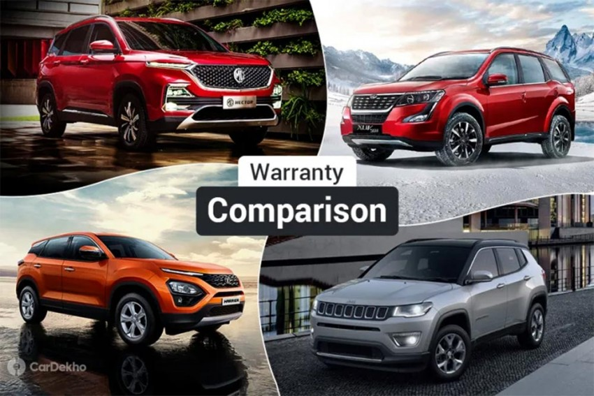 MG Hector Warranty, Maintenance Package Comparison: Better Than Harrier, Compass And XUV500?