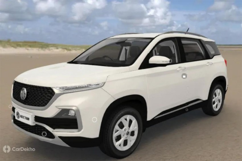 MG Hector Variants In Images: Style, Super, Smart & Sharp