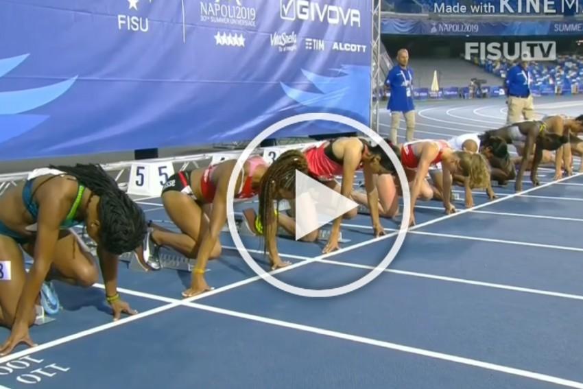 WATCH: Dutee Chand's 100m Gold Medal Sprint In World University Games, President Ram Nath Kovind, Kiren Rijiju Praise Her