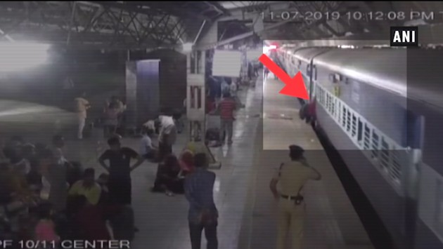 WATCH | RPF Jawan Saves Woman From Being Crushed Under Train In Ahmedabad
