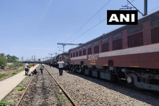 50-Wagon Train With 2.5 Million Litres Water Arrives In Parched Chennai