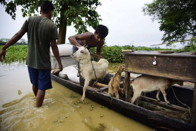 7 Dead, Over 14 Lakh Affected As Flood Situation Worsens in Assam