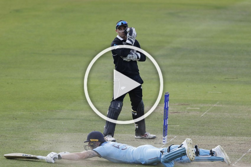 NZ Vs ENG: Mayhem At Lord's As New Zealand, England Produce First Ever Super Over In ICC Cricket World Cup History – WATCH
