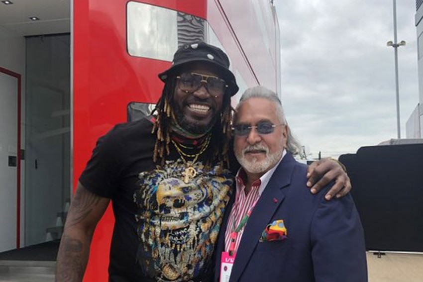 Chris Gayle Posts Photo With Vijay Mallya, Netizens Bombard Twitter With Hilarious Comments