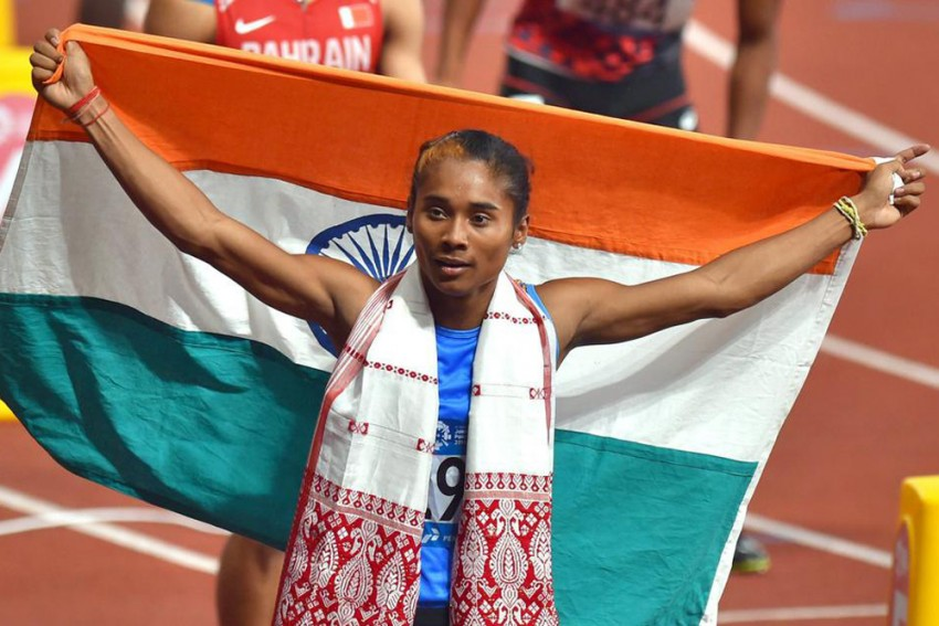 Hima Das Wins Third Gold Medal In Less Than Two Weeks, Mohammad Anas Qualifies For World Championships