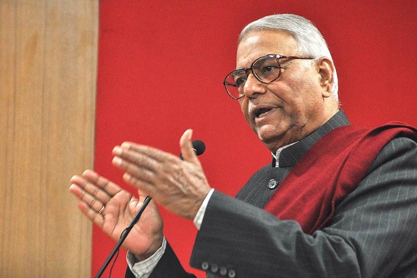 NDA Govt's Flagship Projects Were My Ideas, Claims Ex-BJP MP Yashwant Sinha In Autobiography