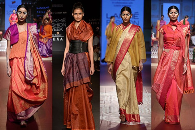 #SareeTwitter: Women Share Graceful Pictures Draped In Nine Yards