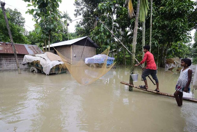 Assam Floods: 15 Dead, Nearly 43 lakh Affected; 90% Of Kaziranga National Park Inundated