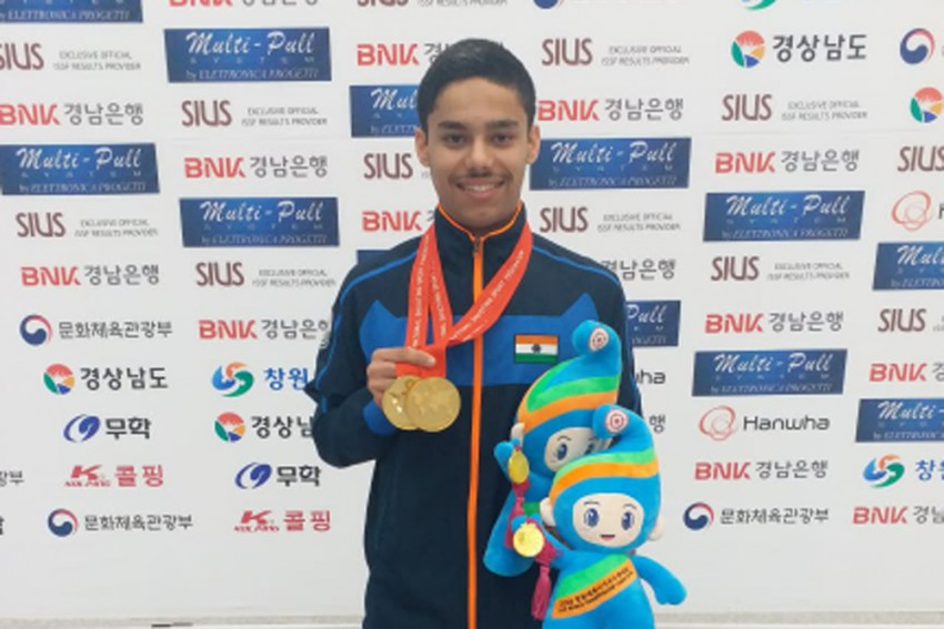 Junior Shooting World Cup: Vijayveer's Third Gold Keeps India On Top Of Medals Tally
