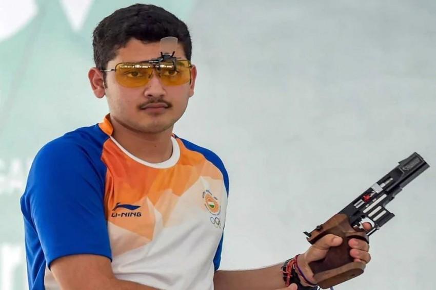 Anish Bhanwala Wins Gold At Junior Shooting World Cup