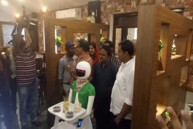 'Excuse Me, You Are On My Way': This Kerala Restaurant Has Robot Waitresses
