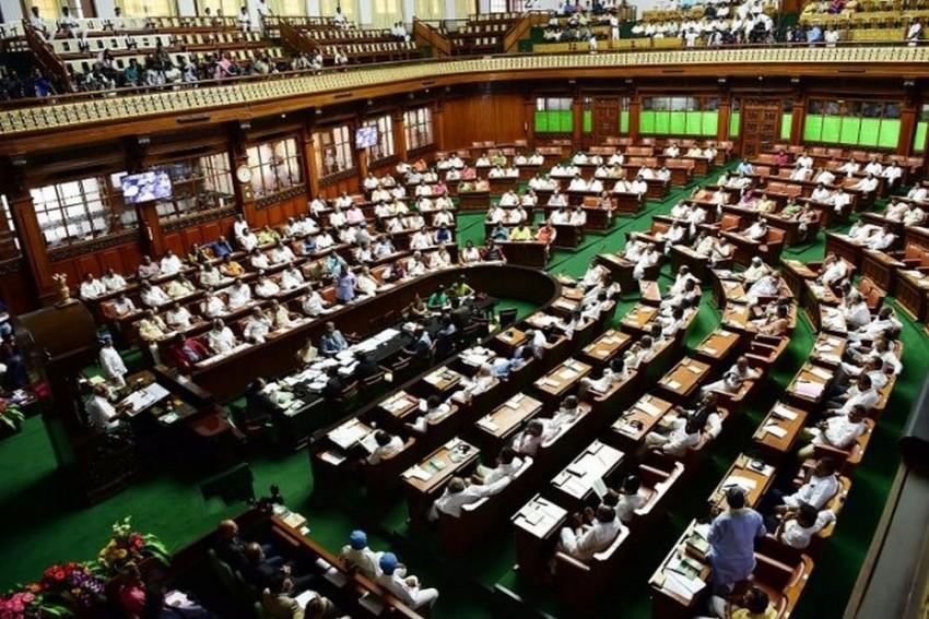 Karnataka Trust Vote: House Adjourned Till Friday, BJP MLAs To Hold Nightlong Dharna At Assembly