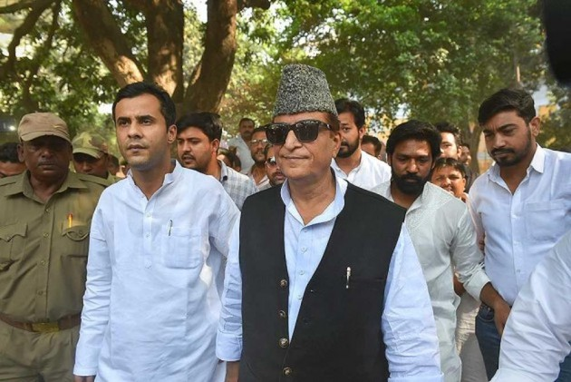 UP Government Puts Azam Khan's Name On List Of Land Mafias; Samajwadi Party Protests