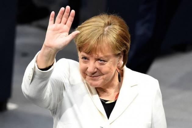 German Chancellor Angela Merkel Criticises Donald Trump's Comments On Congresswomen