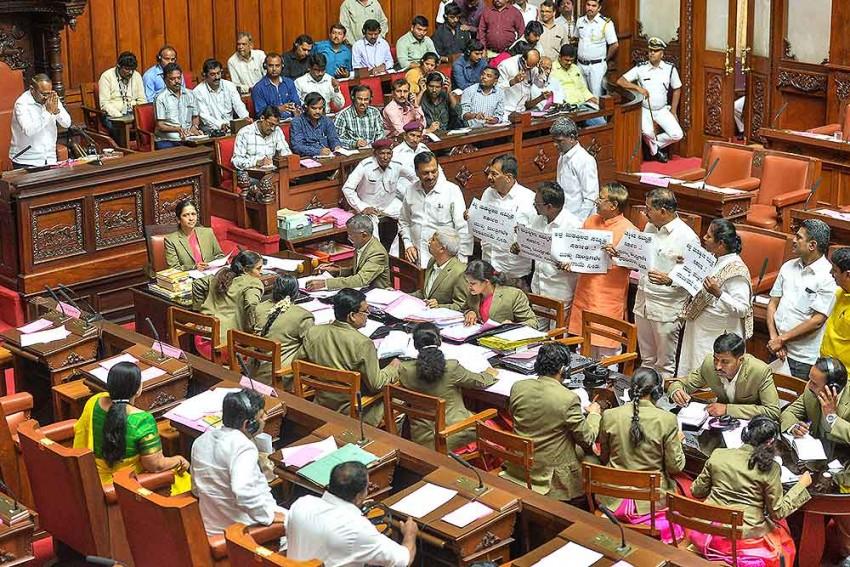 Karnataka Crisis Continues, No Trust Vote Today, Speaker Adjourns House Till Monday